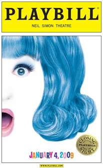 Hairspray Limited Edition Official Closing Night Playbill